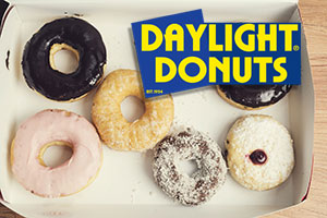 Daylight Donuts go fast!