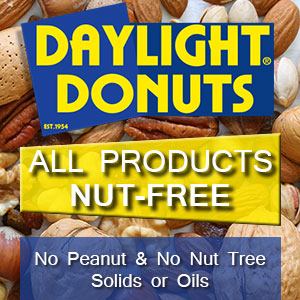 Nut Free Products Guaranteed - No nut meats or oils in our store!